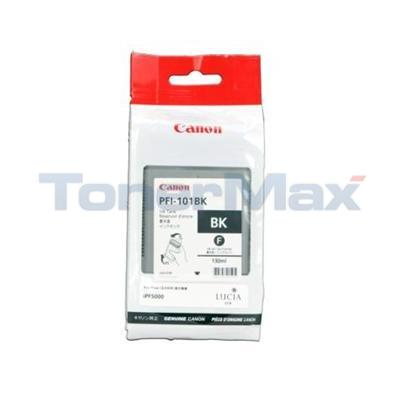 CANON PFI-101 BK INK TANK BLACK 130ML